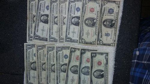 old cash 25.00 face value