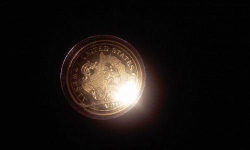 $20 gold coin replica