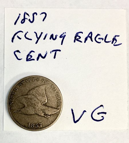 1857 Flying Eagle Cent