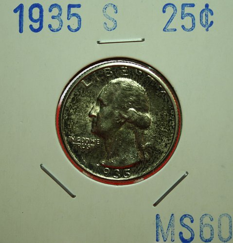 1935 S Washington Quarter