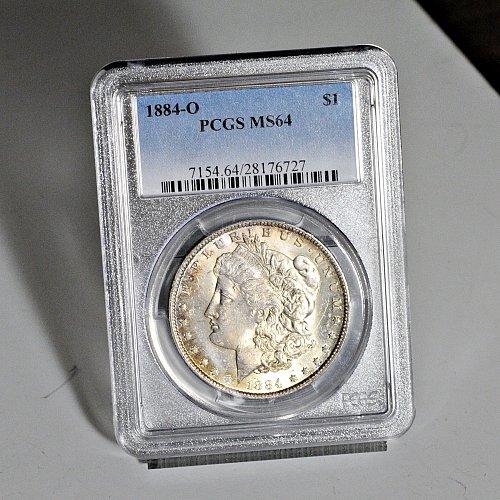 1884-O PCGS Morgan $ (e#4400)