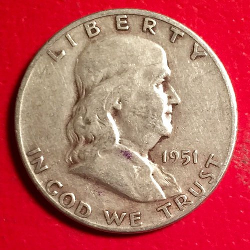 1951S Franklin Half
