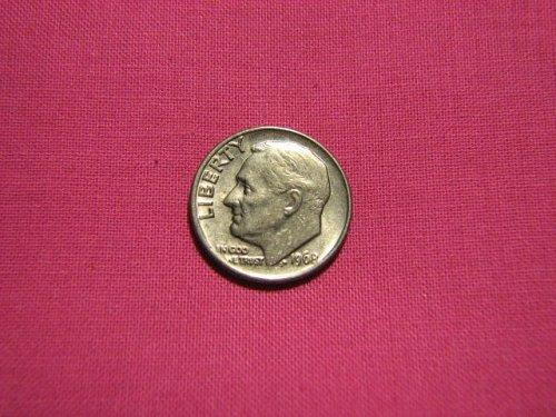 1968 P Dimes Roosevelt