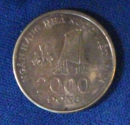 2003 Viet-Nam 2000 Dong UNC