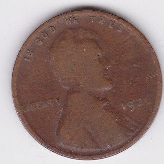 1926 P  ..CIRCULATED LINCOLN FINE COIN