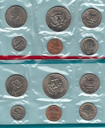1979 Uncirculated double set  /  WM-15