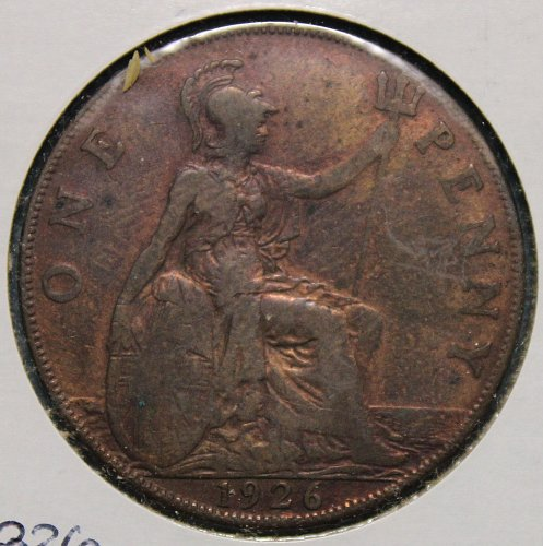 Great Brittain 1926 Penny