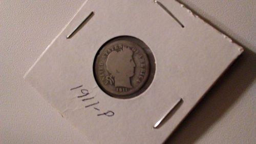1911P Barber Dime
