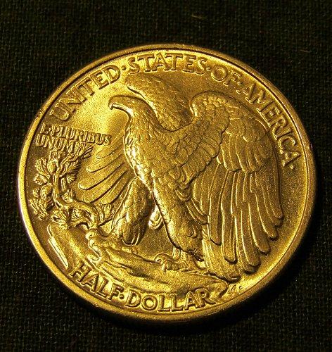 1941-P Silver Walking Liberty Half Dollar GEM BU !!