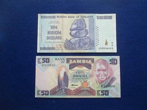 ASSORTED 2 PIECE  WORLD PAPER MONEY LOT