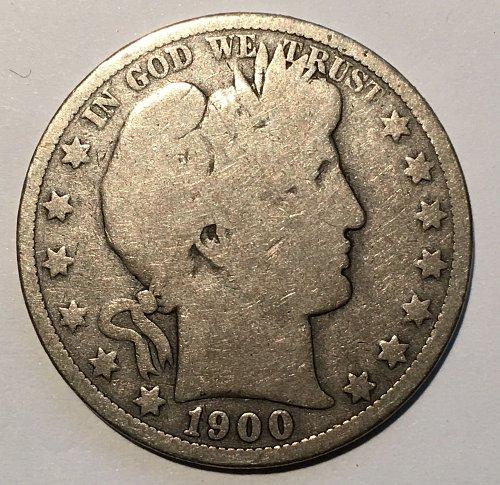 1900 O Barber Half