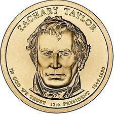 2009 P  ZACHARY TAYLOR  GOLDEN DOLLAR
