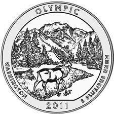 2011  D   OLYMPIC  NATIONAL PARK'S  QUARTER