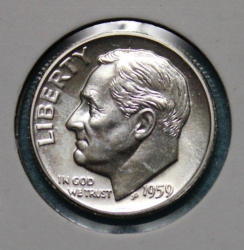 1959 P Roosevelt Dime