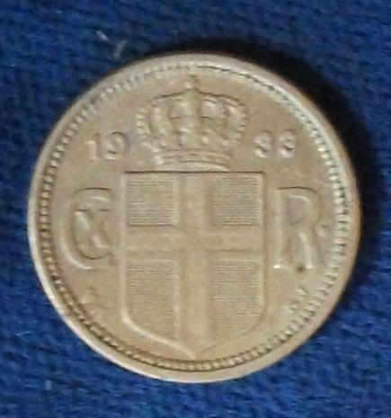1933 Iceland 10 Aurar XF