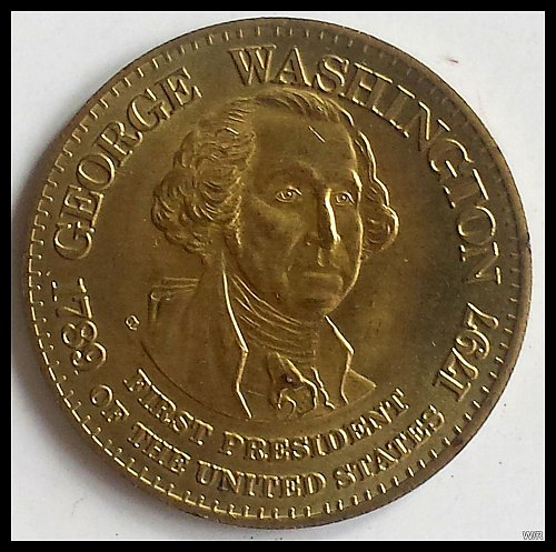 Presidential Coin/Medallion: George Washington