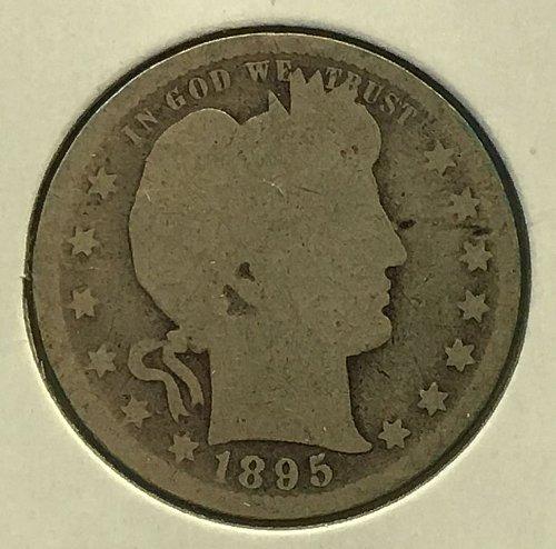 1895 P Barber Quarter