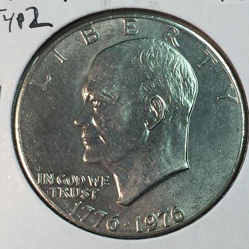 1976-P Type 2 Eisenhower Dollar (40023)