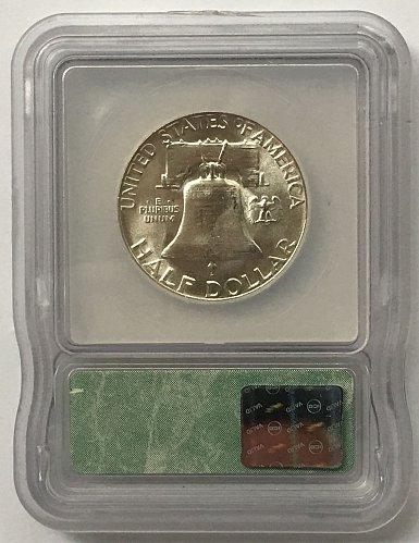 1955 P Franklin Half Dollar MS-65