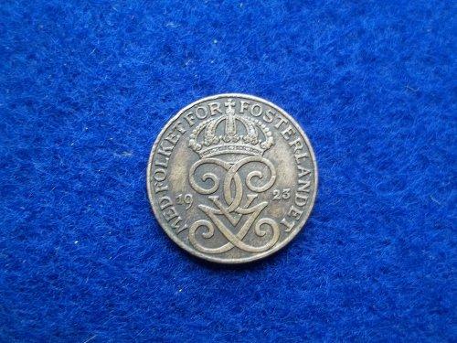 DENMARK 1923 1 ORE CIRCULATED WORLD COIN
