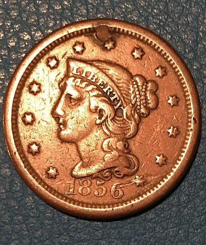 Beautiful 1856 Large Cent