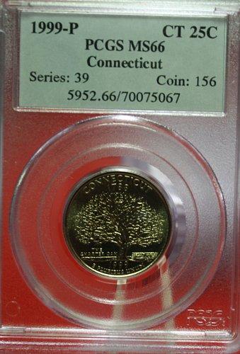 1999 Connecticut State Quarter