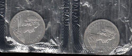 Canadian: 1968  Elizabeth-Dollar - Nickel Issue :   /  WM-33
