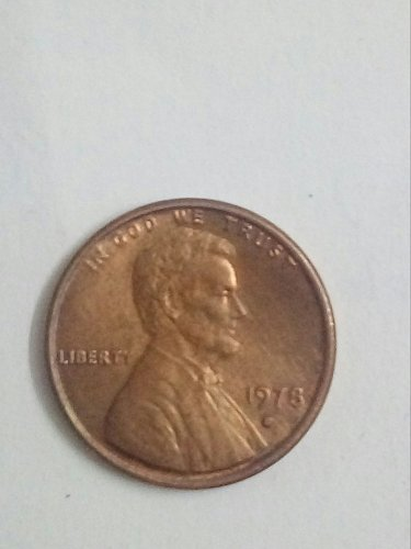 1978 D copper coin weighing 3.11gms