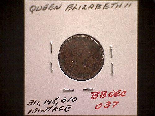 1970 CANADA ONE CENT QUEEN ELIZABETH 11