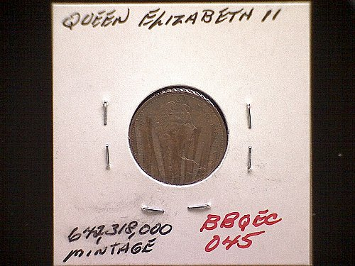 1975 CANADA ONE CENT QUEEN ELIZABETH 11