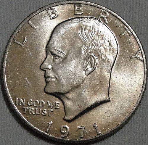 Eisenhower >> 1971-P : Type 2 - Common Reverse