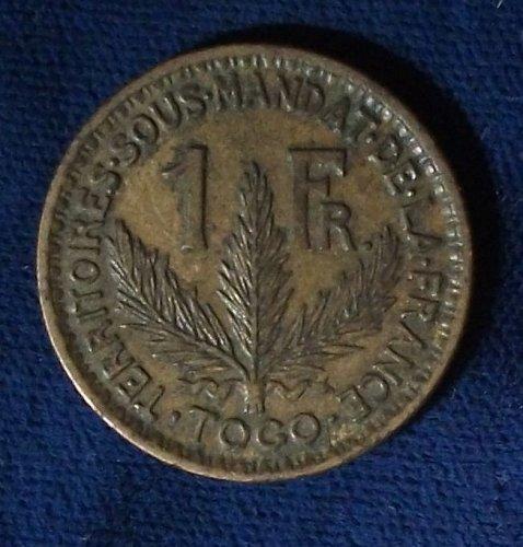 1925 Togo Franc AU