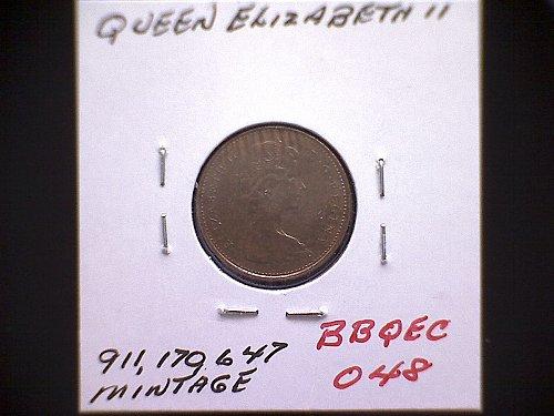 1978 CANADA ONE CENT QUEEN ELIZABETH 11