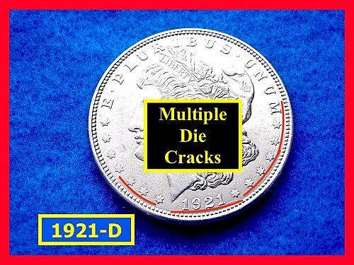 "1921-D Morgan Silver Dollar •""GREAT Details""  ••(#5283)"