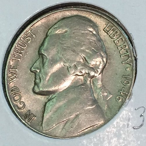 1946-D Jefferson Nickel (41358)