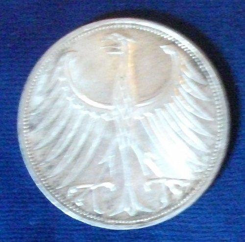 1965G Germany/Federal Republic 5 Mark XF