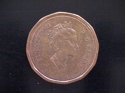 1993 CANADA ONE CENT QUEEN ELIZABETH 11
