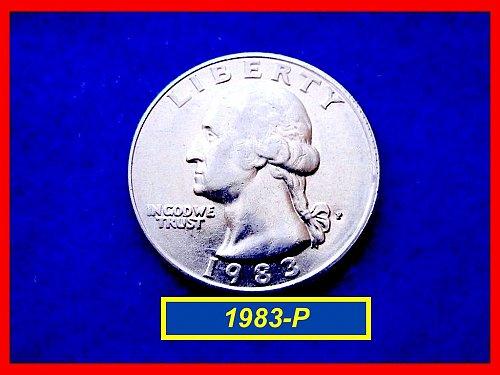 1983-P CIRCULATED  Washington QUARTER  • (#2512)