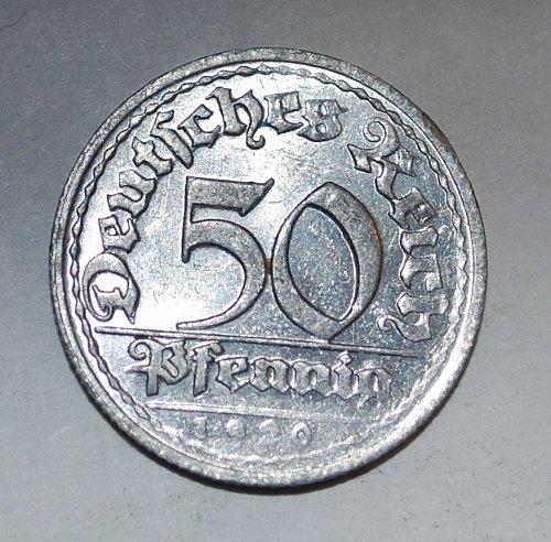 Germany 50 pfennig 1920 d