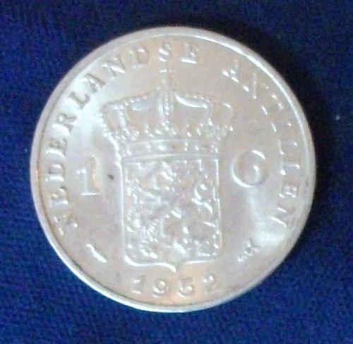 1952 Netherlands Antilles Gulden AU