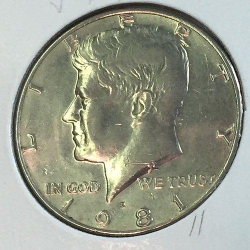 1981-D Kennedy Half Dollar (40328)