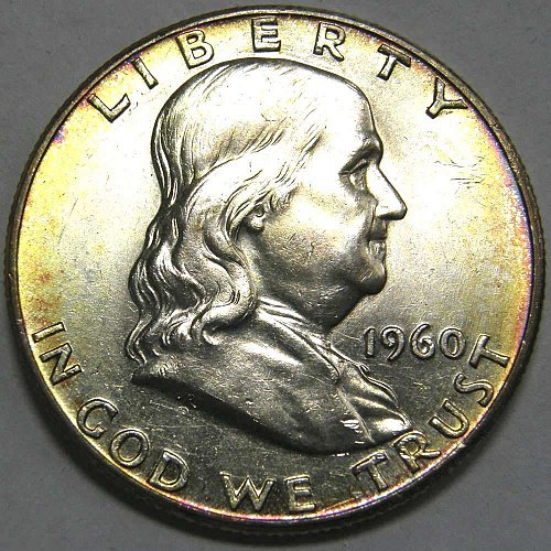 1960 P Franklin Half Dollar #2