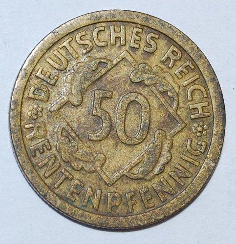 Germany 50 pfennig 1924 g
