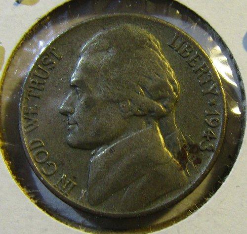 1943-D Silver Jefferson Nickel- WAR TIME