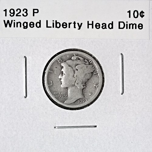 1923 P Winged Liberty Head Dime