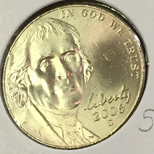 2006-D Jefferson Nickel (41511)
