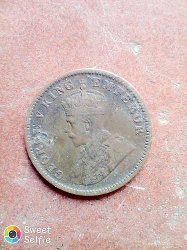 Very Antique And Rare British Indian Coin