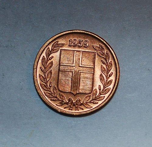 Ireland 1 eyrir 1959