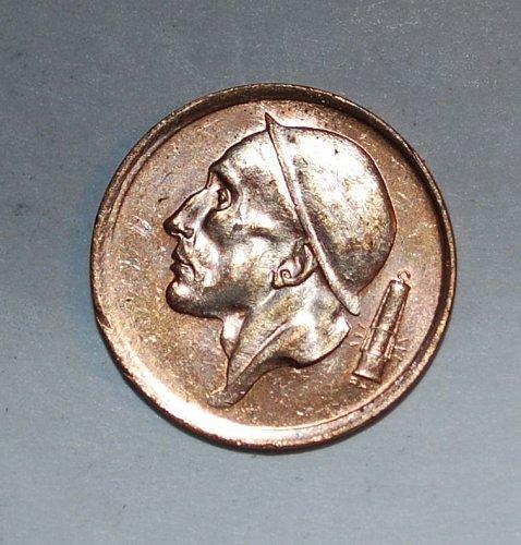 Belgium 20 cents 1953