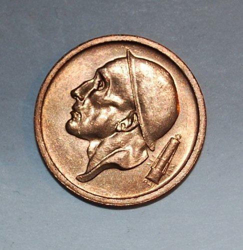 Belgium 20 cents 1959